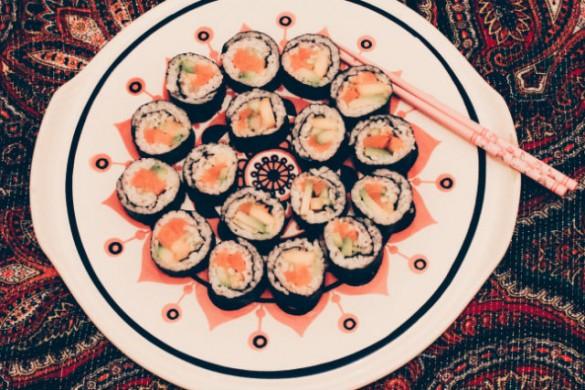 веган суши муши