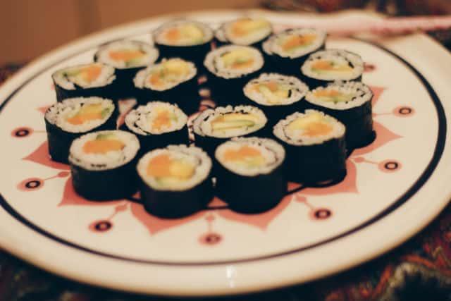 веган суши сет